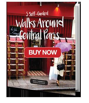 Walks around central paris self-guided book
