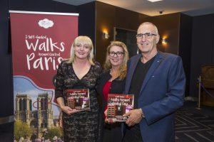 Paris walks book launch
