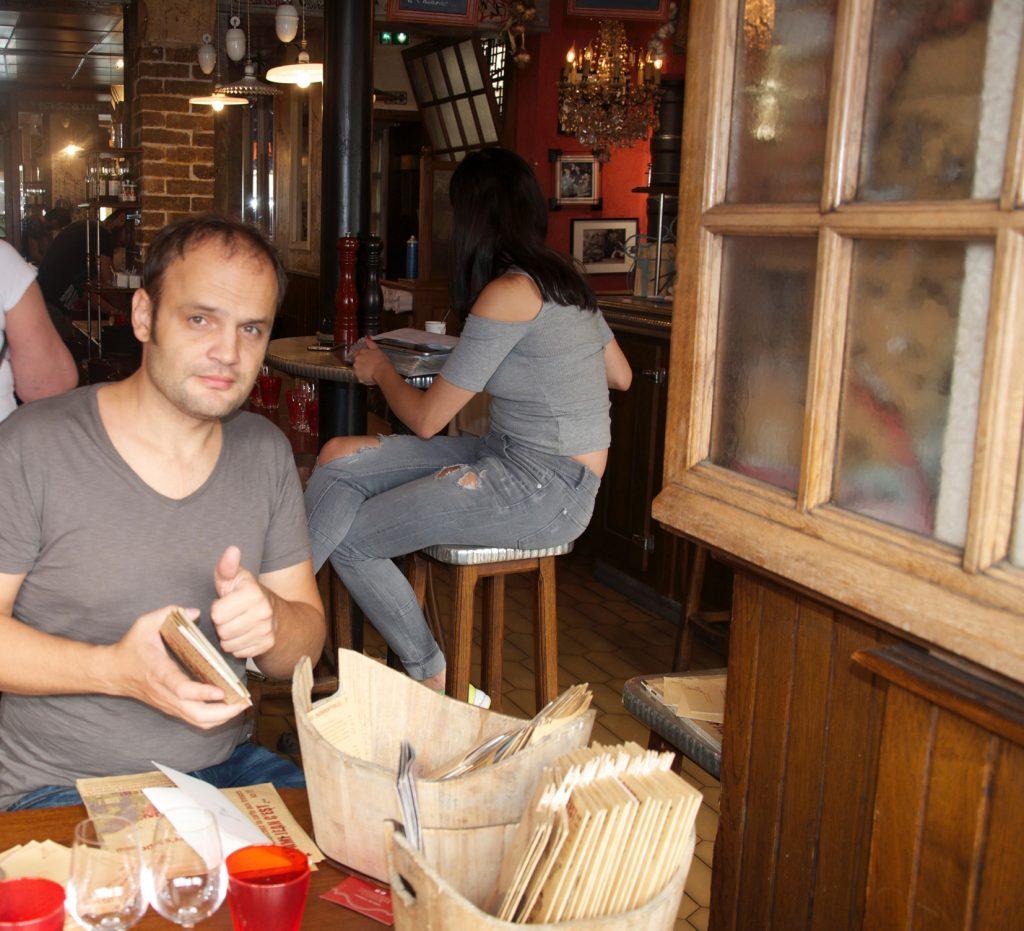 5 favourite places to eat and drink - L'Ami Jean Bistro, Paris