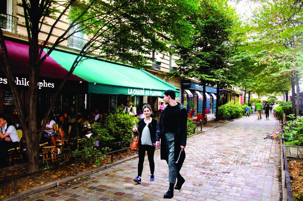 La Chaise au Plafond, Paris 5 places to eat and drink